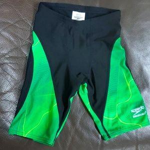 Speedo endurance jammers skimmies 24 green black